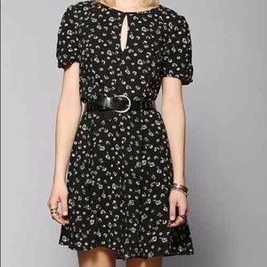 Urban Outfitters Black Floral Dress